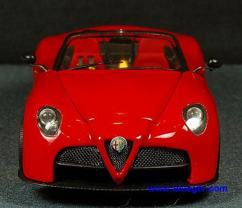 Alfa Romeo 8C Competizione Spider GTA ( 1/24 , Scratch